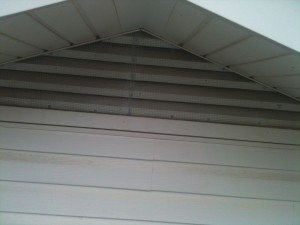 Gable Vent Exclusion